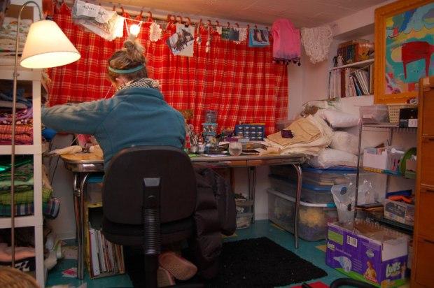 Still sewing...